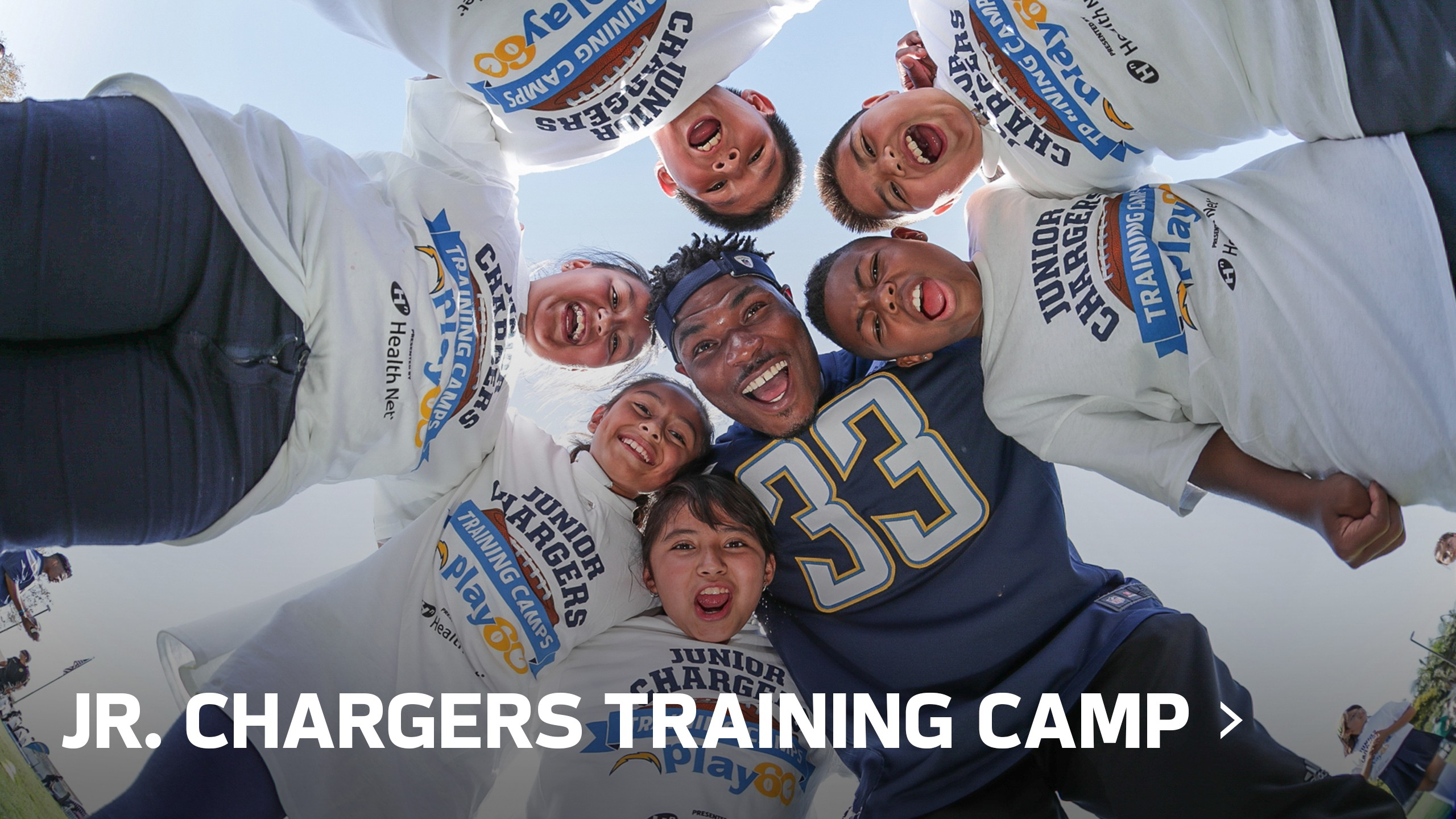 Jr. Chargers Training Camp