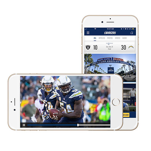 Download the Official Chargers App!
