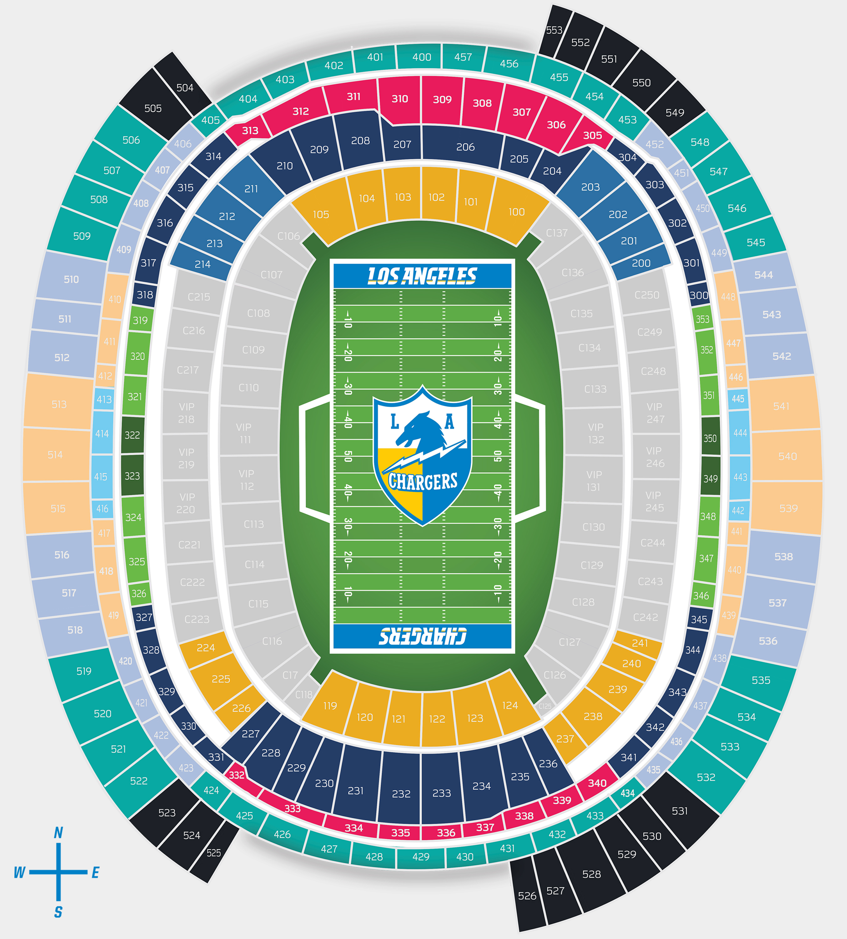 Chargers New Stadium: Los Angeles Chargers - Chargers.com