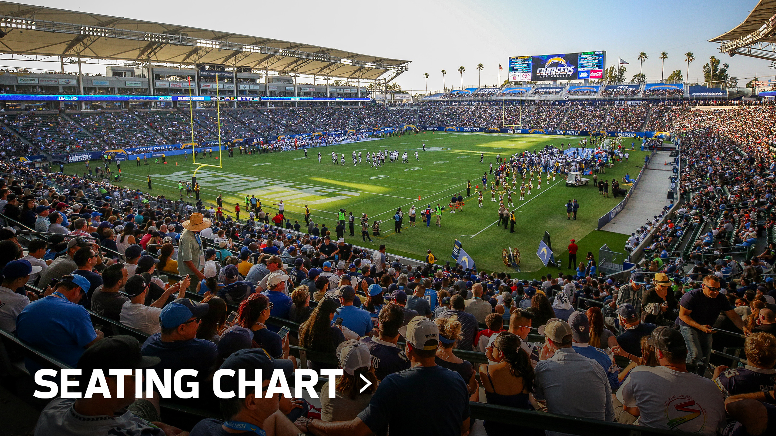 ba364fef Chargers ROKiT Field at Dignity Health Sports Park | Los Angeles ...