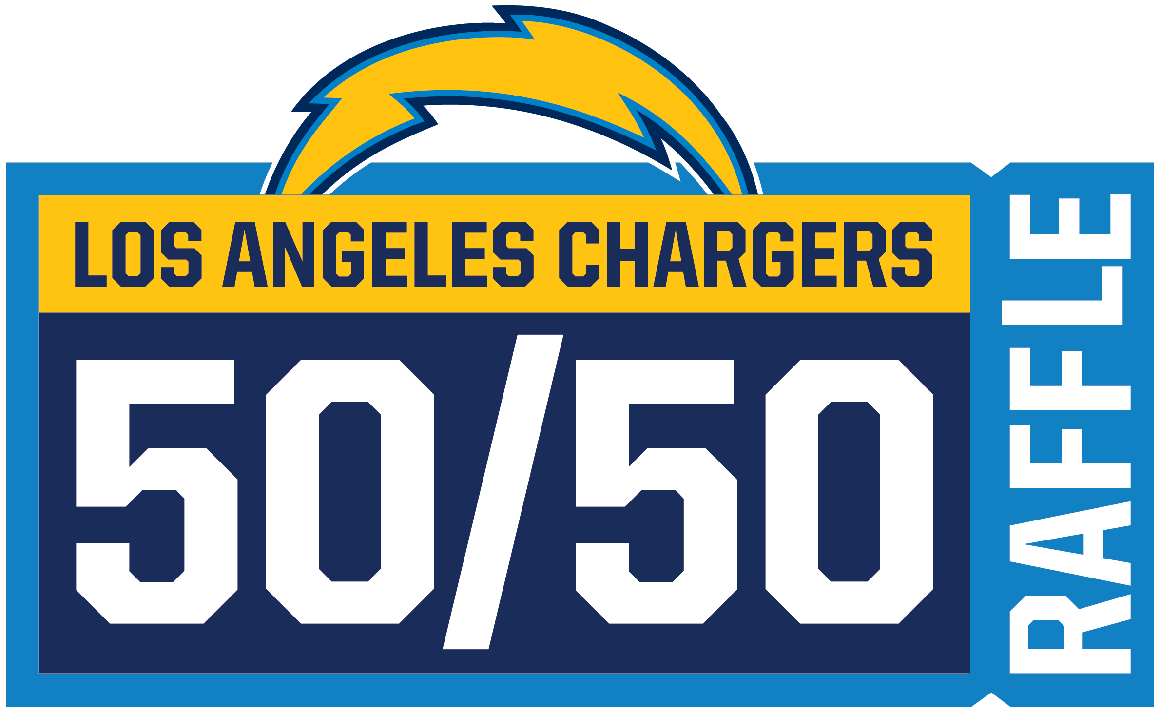 Chargers 50/50 Raffle