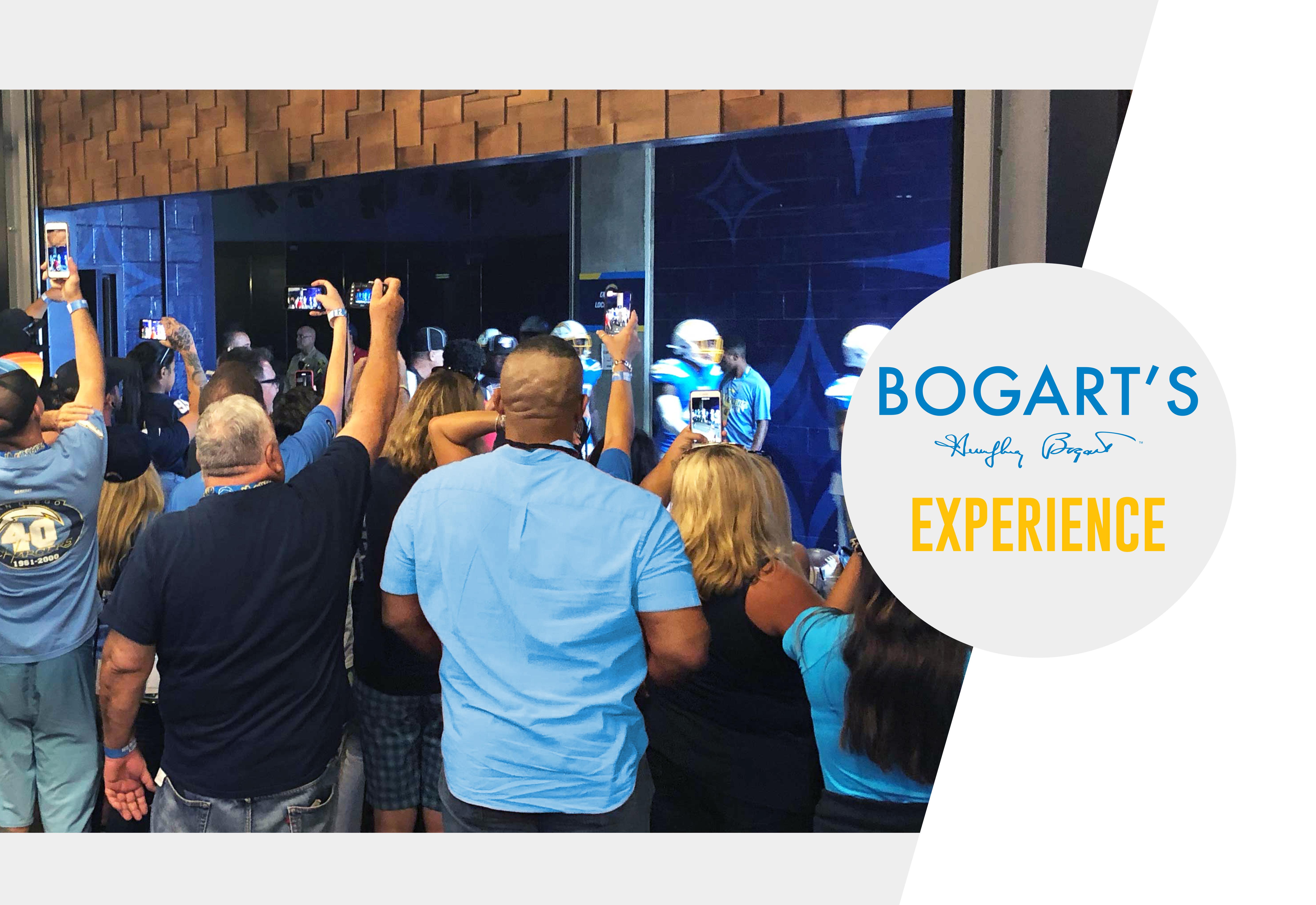 Bogart's Experience