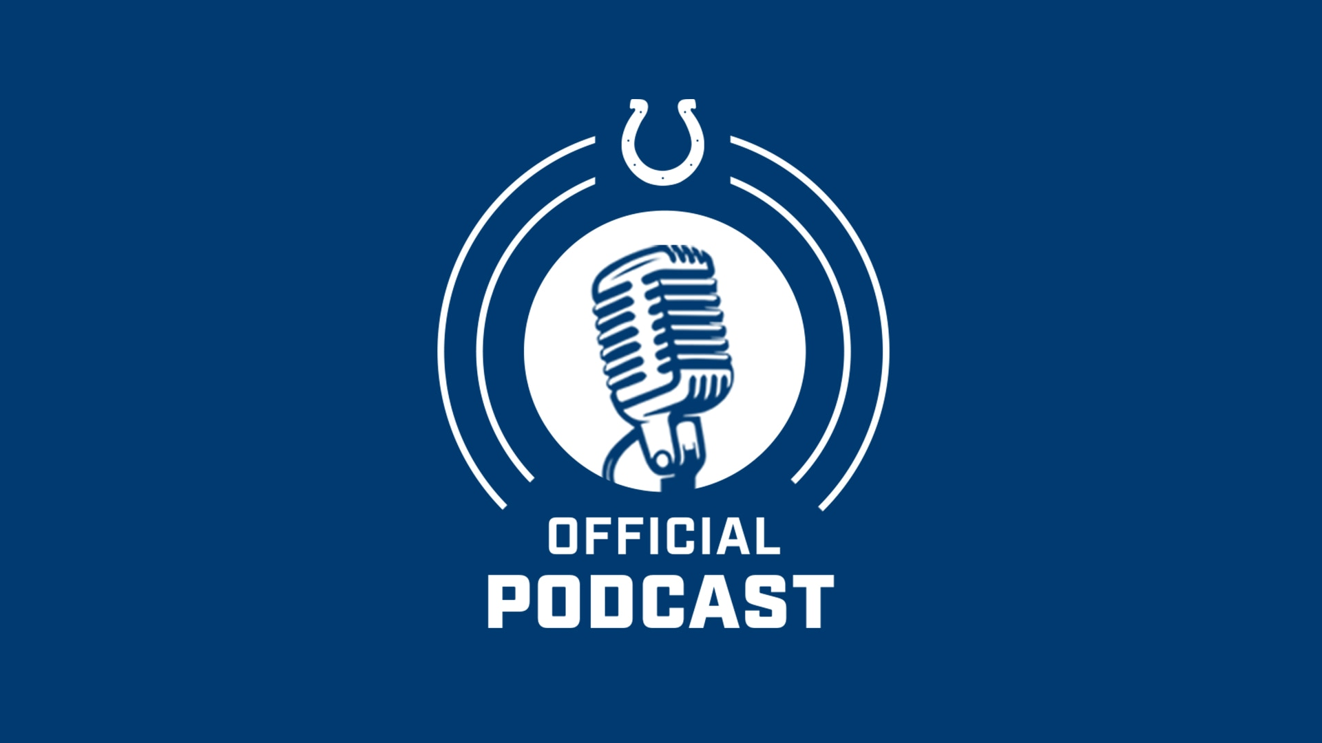 COLTS OFFICIAL PODCAST