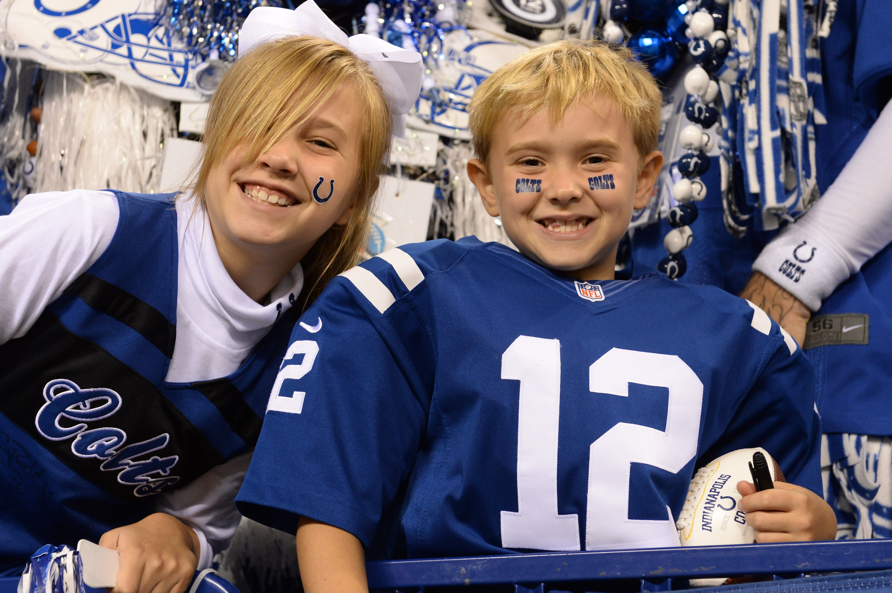 Become a member of one of the Official Colts Fan Clubs