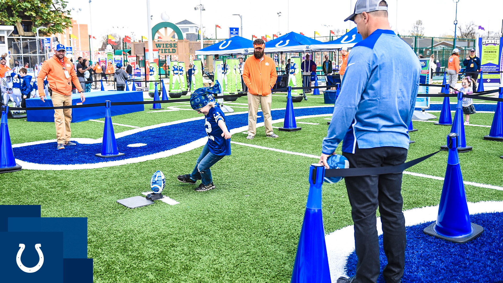 Celebrate 100 seasons of NFL Football with the Colts at the Children's Museum. Admission is FREE!