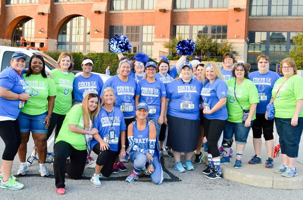 Blue Ladies Volunteer Days