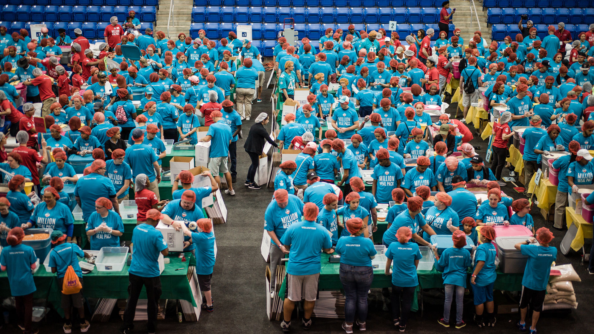 One Million Meal Packing Event presented by AARP Foundation