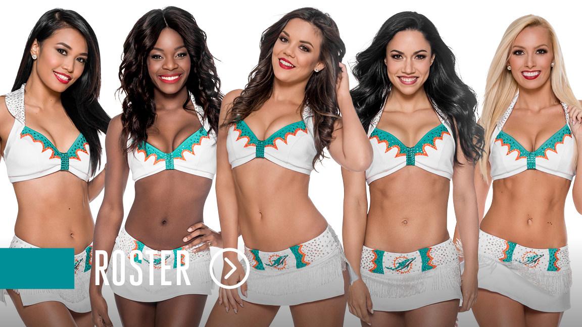 5daec5576 Miami Dolphins Cheerleaders