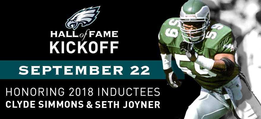 Hall Of Fame Kickoff | September 22nd