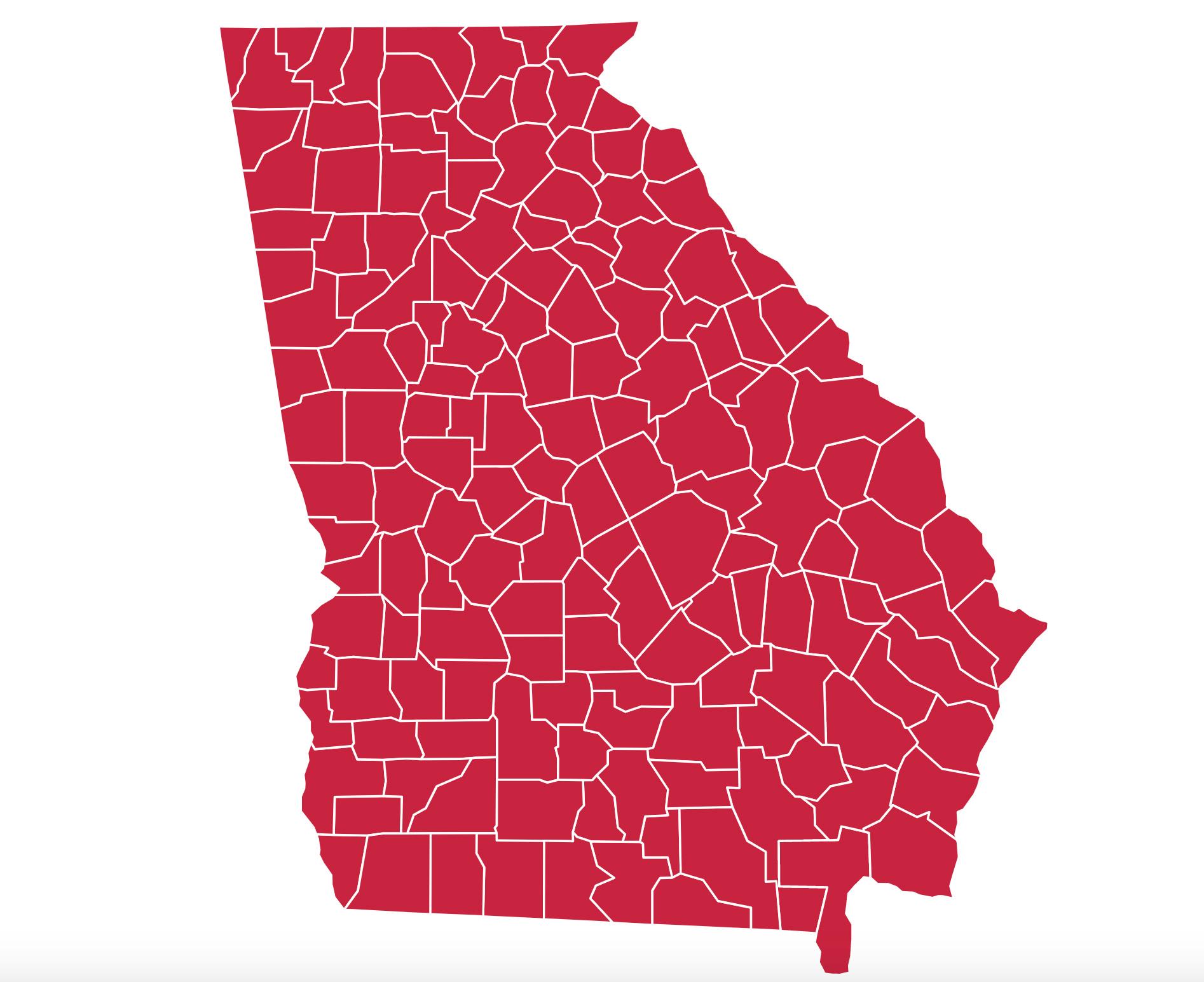 159 Georgia Counties Served
