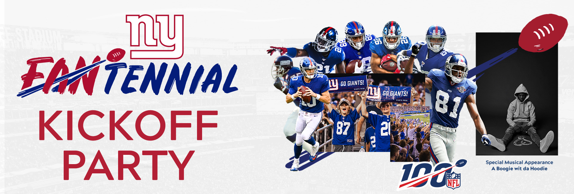 timeless design f900d d358f Giants Fantennial Kickoff Party Tickets | New York Giants ...