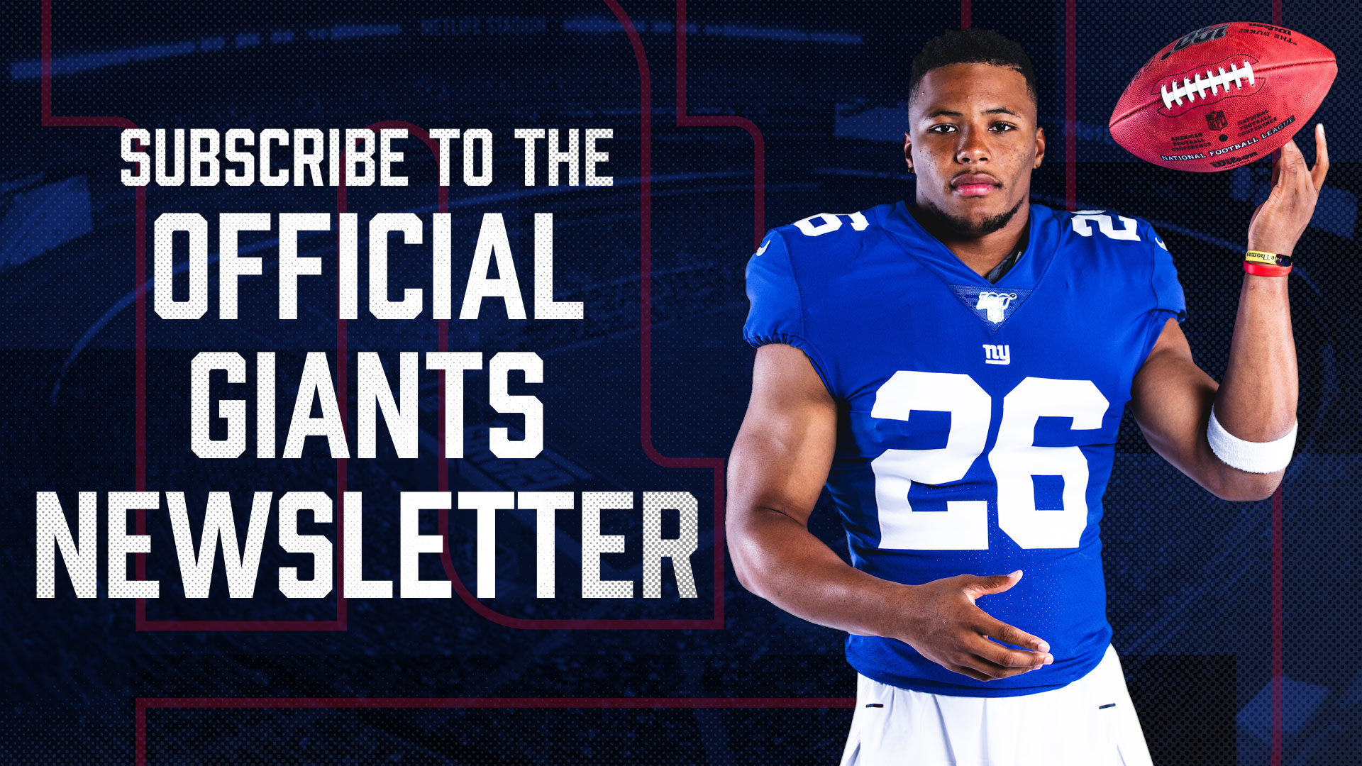 Sign up for the Giants Newsletter
