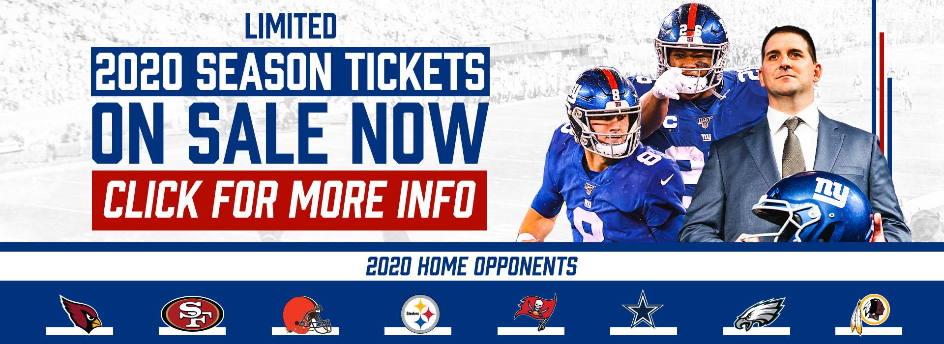 Giants Season Ticket Information