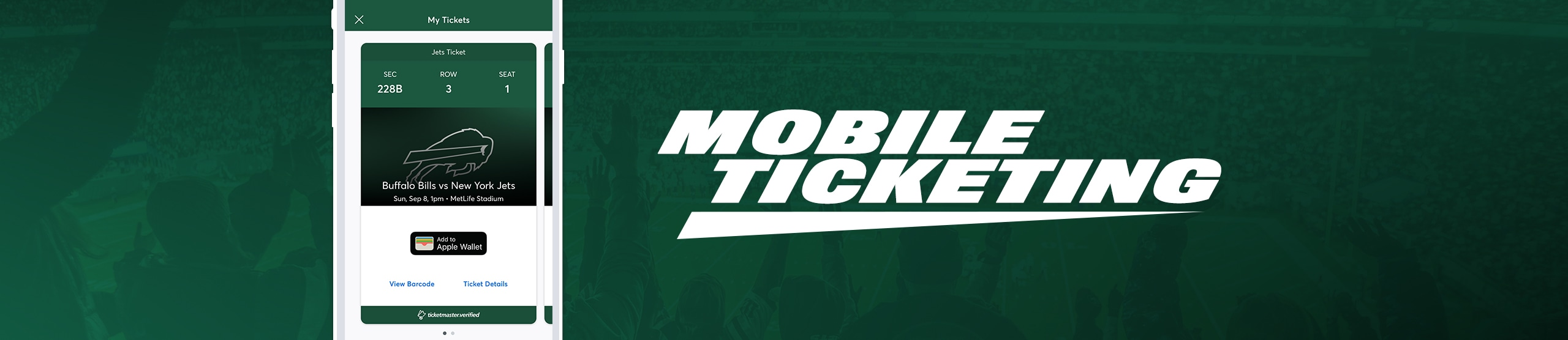 New York Jets | Mobile Tickets FAQ