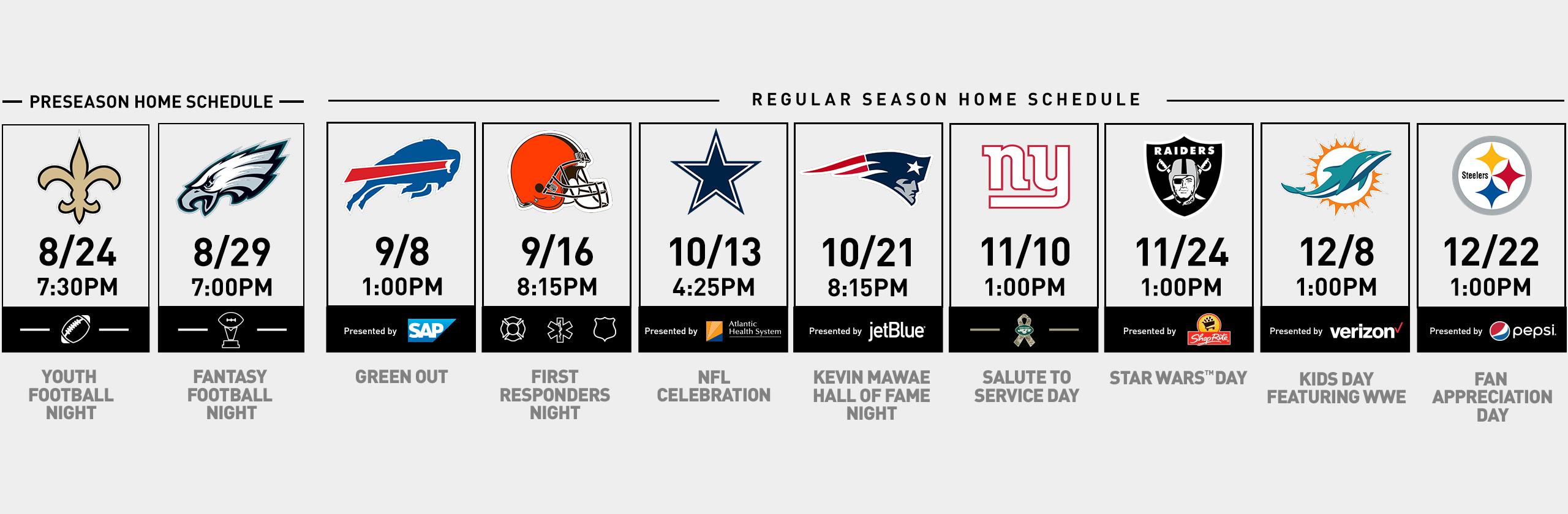 New York Jets | Group Tickets Renewals