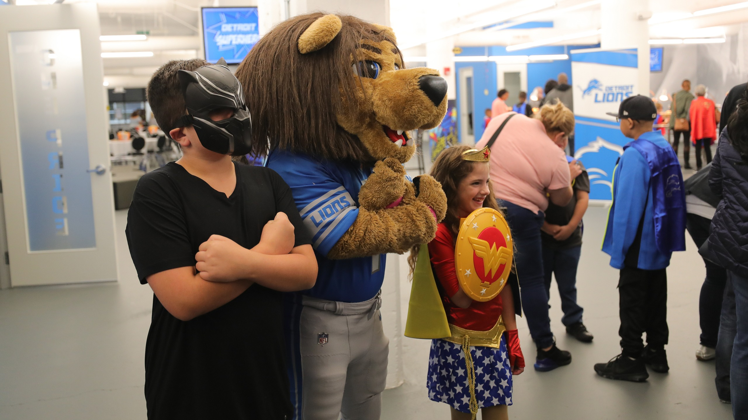 Detroit Lions Football Education Roary Appearances