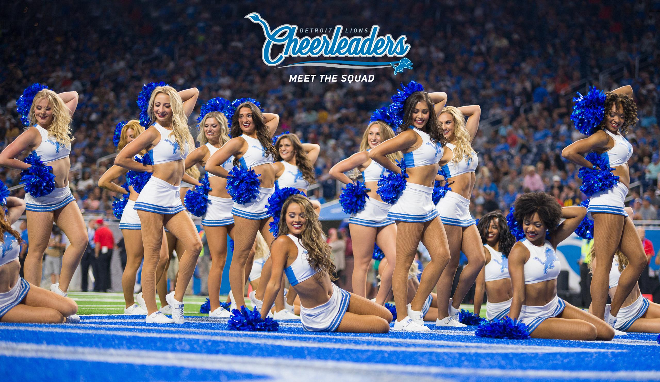 Detroit Lions Cheerleaders | Detroit Lions - DetroitLions com