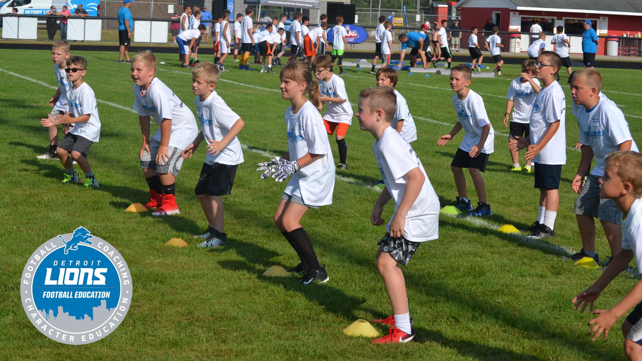 8d27613f Detroit Lions Football Education - Fundamentals Camps | Detroit ...
