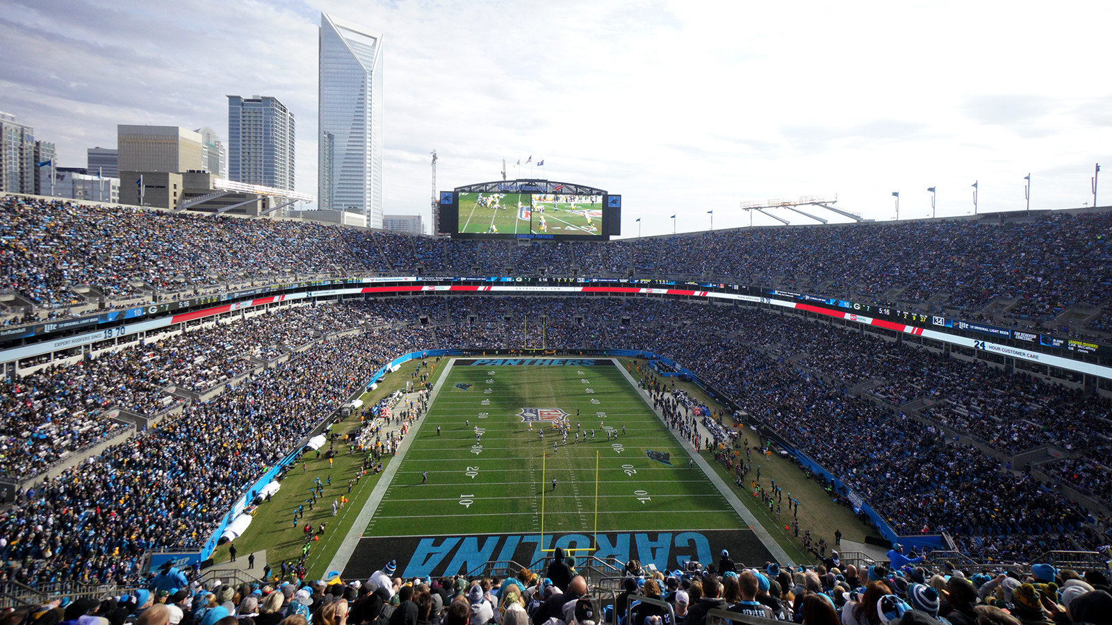 game day experience | carolina panthers - panthers