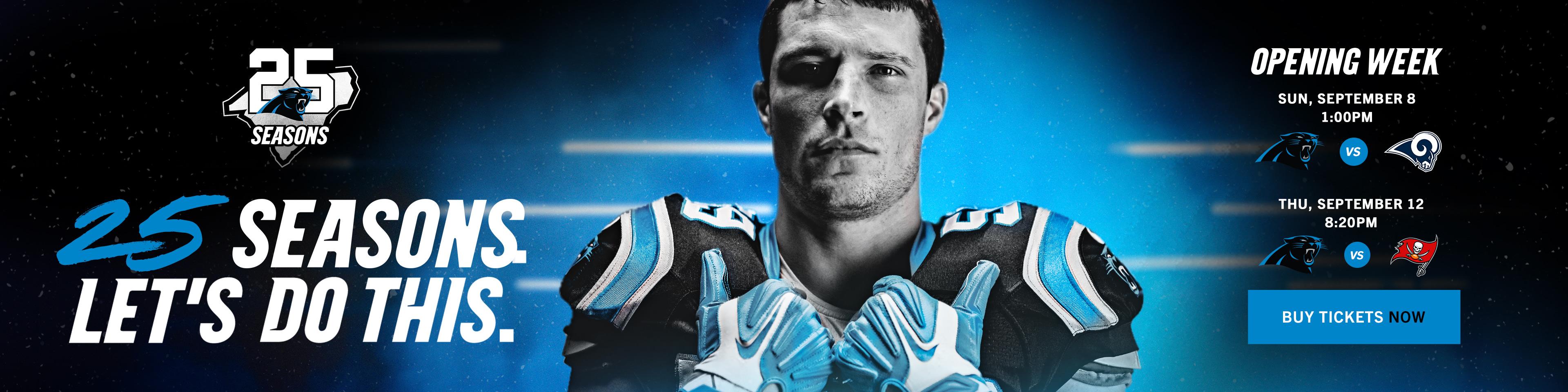 Single Game Tickets | Carolina Panthers - Panthers com