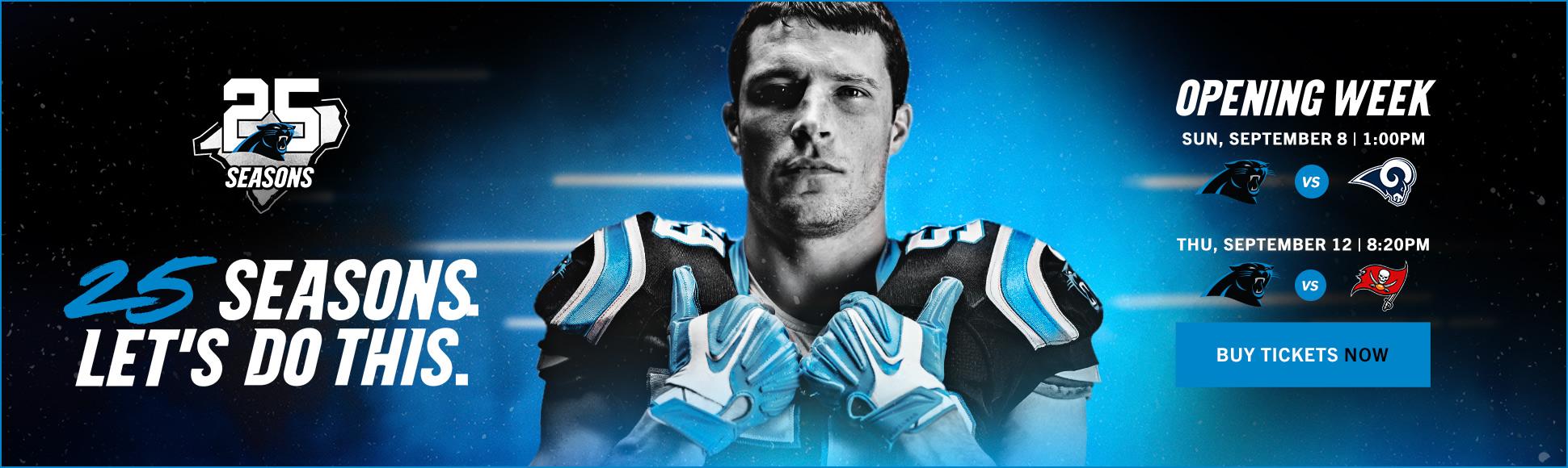 Panthers Home | Carolina Panthers - Panthers com