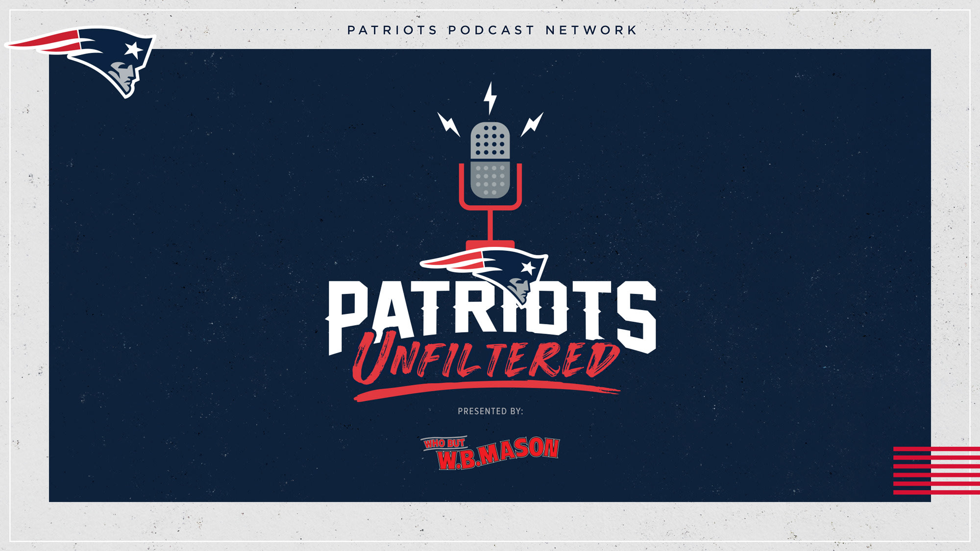 Patriots Unfiltered (Live Tuesday and Thursday, 12pm ET)