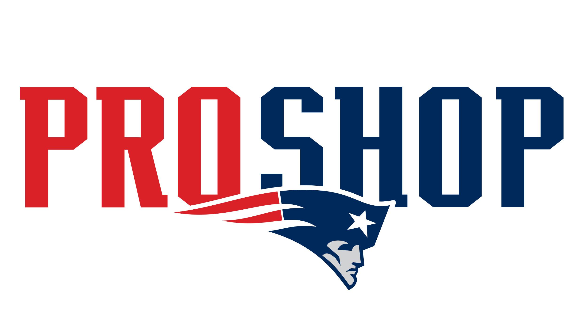 Visit PatriotsProShop.com