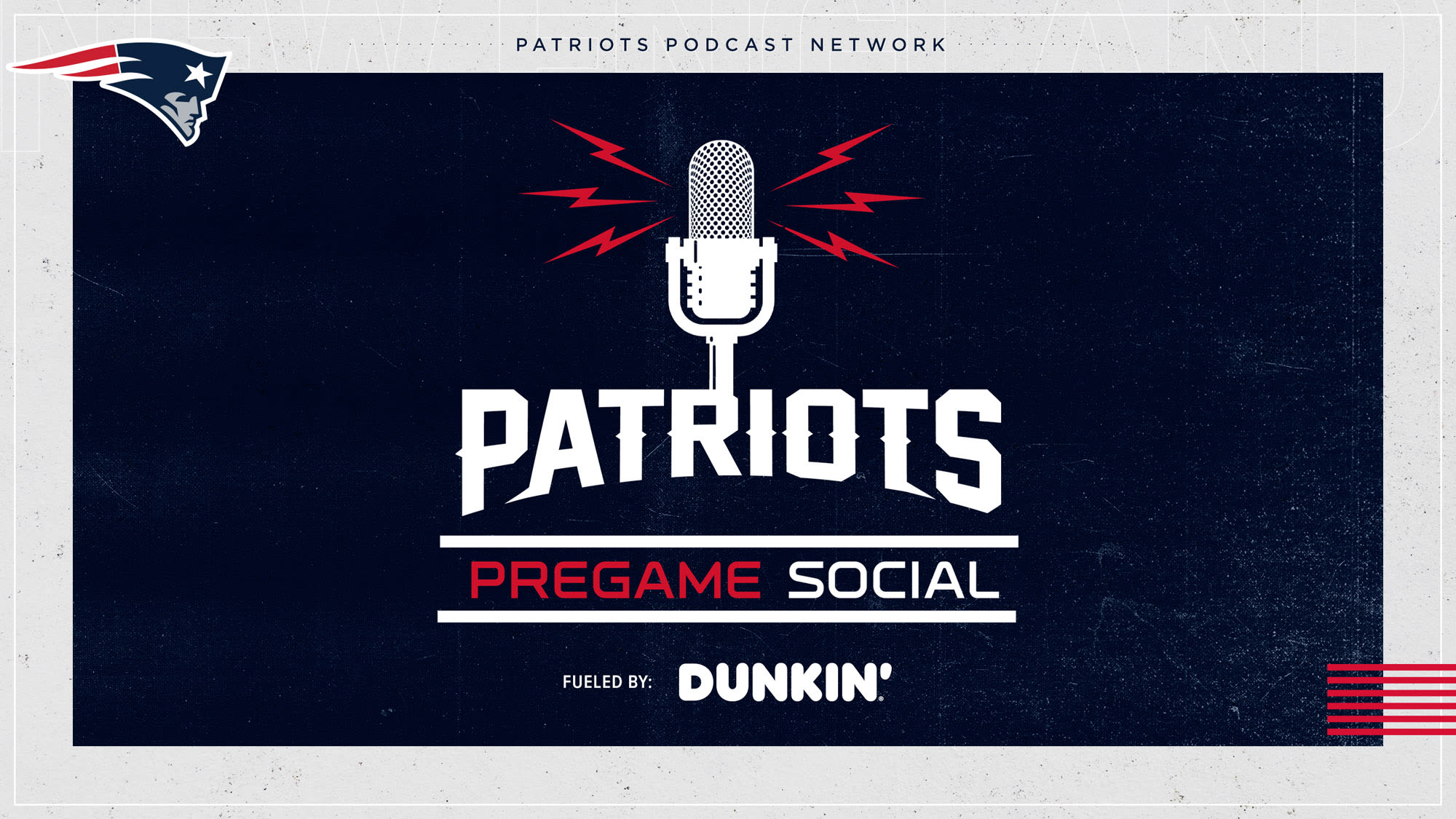 Patriots Pre-Game Social (Live 2 Hours Before Each Game)