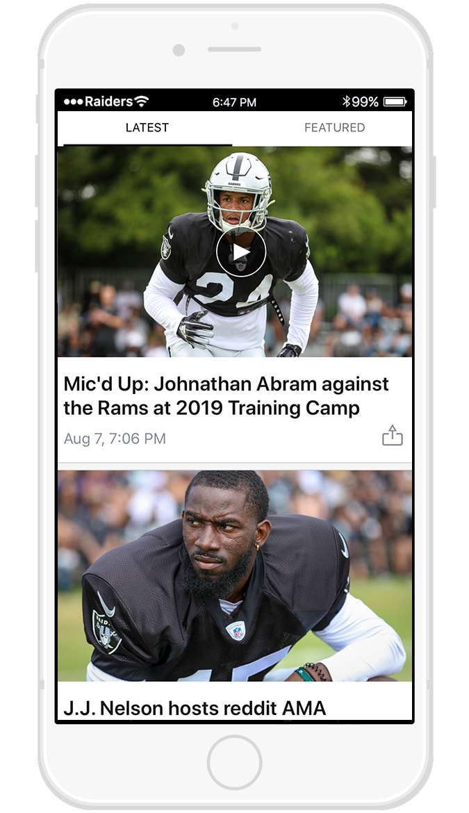 Official Mobile App | Raiders com