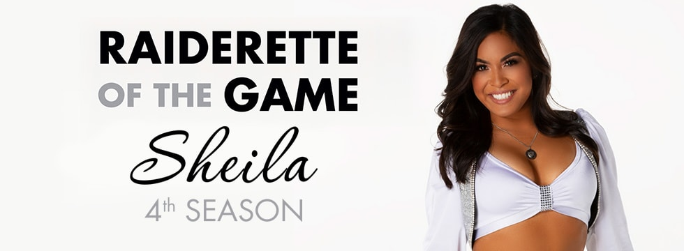 Raiderette of the Game