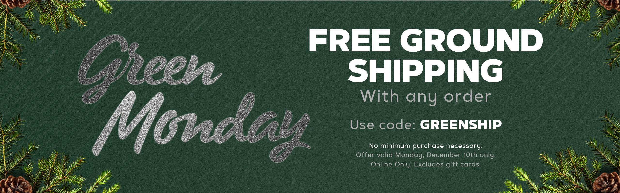 Green Monday sale at Raider Image