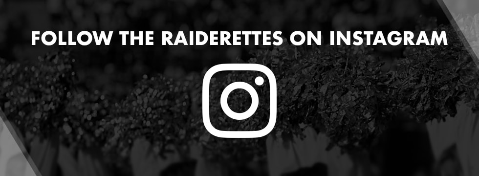 Official Raiderettes Instagram