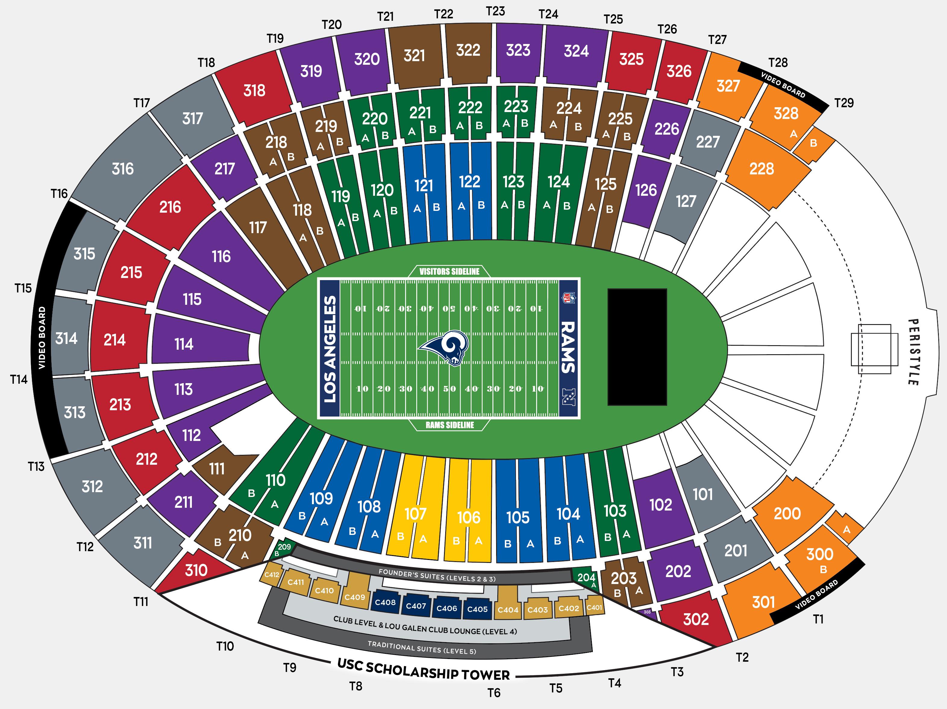 Rams Season Tickets Los Angeles Rams Theramscom