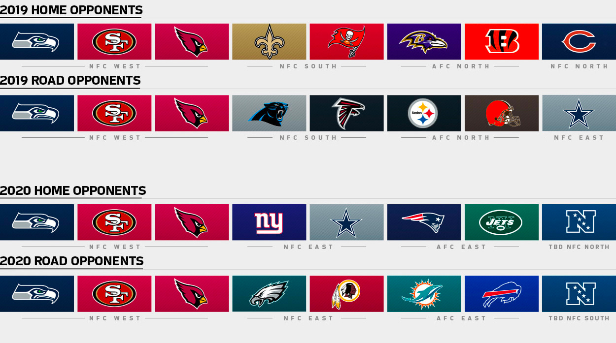 49ers Home Schedule 2020.Rams Future Opponents Los Angeles Rams Therams Com
