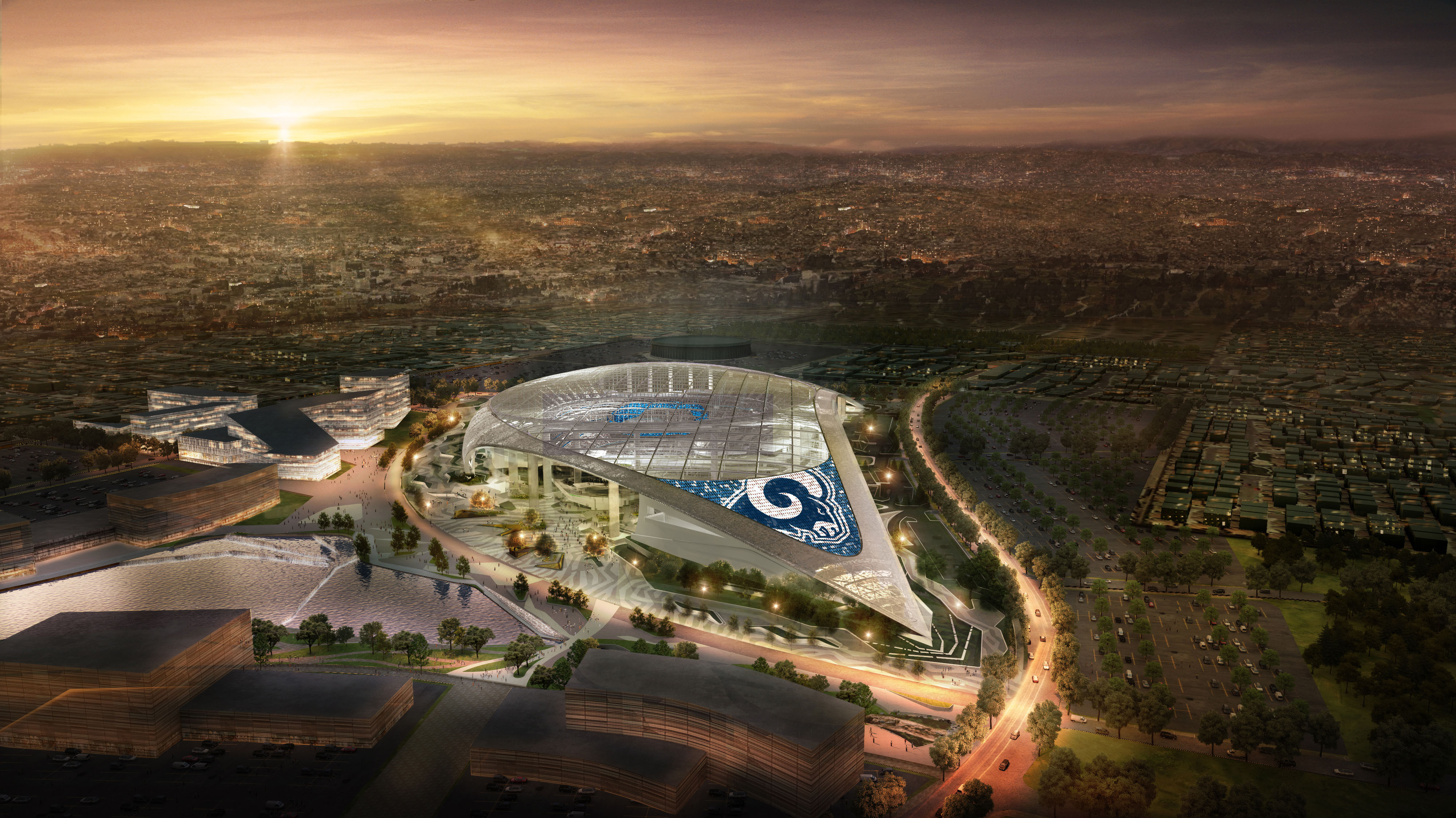 new la stadium los angeles rams
