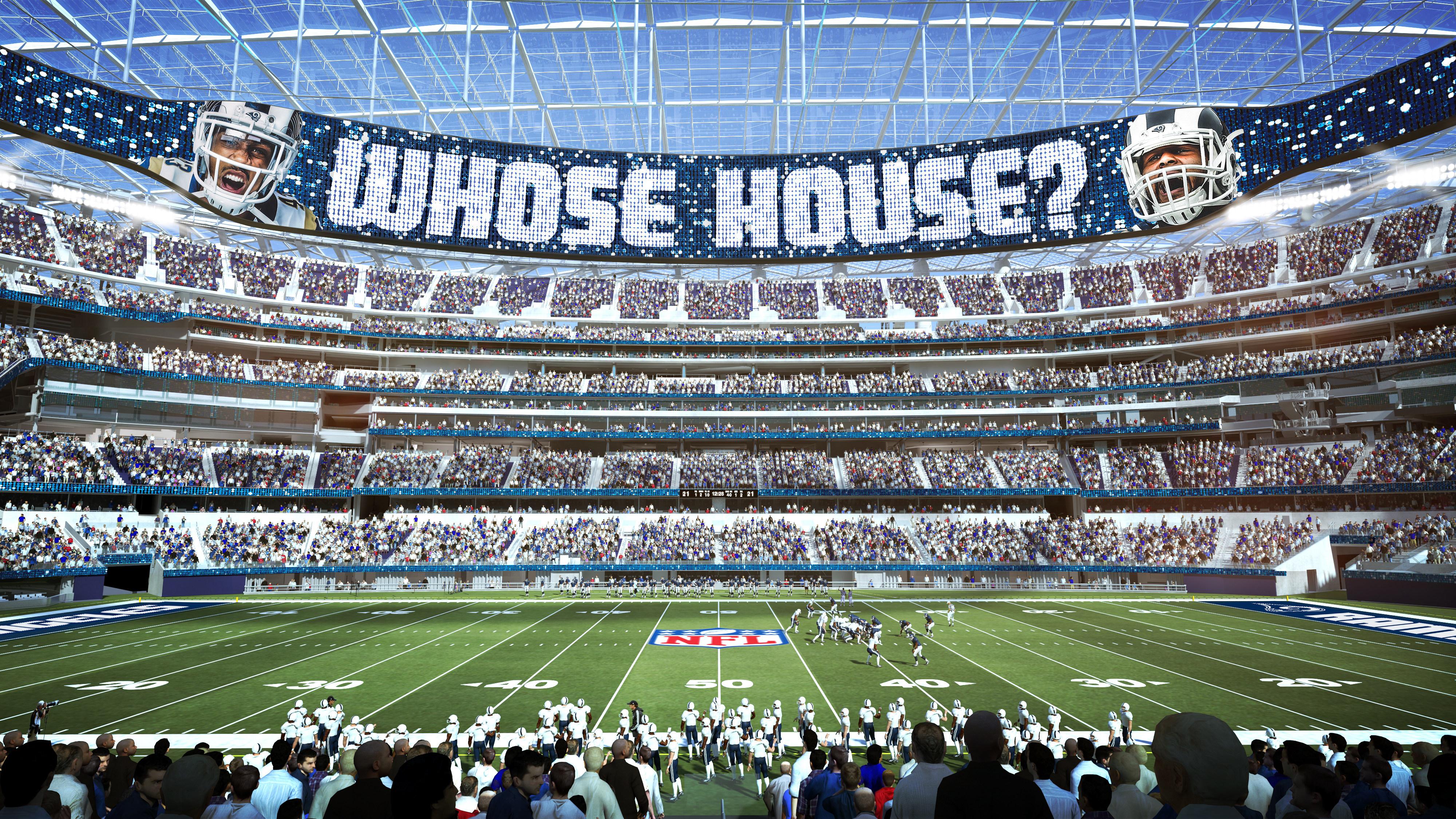 New La Stadium Los Angeles Rams Therams Com