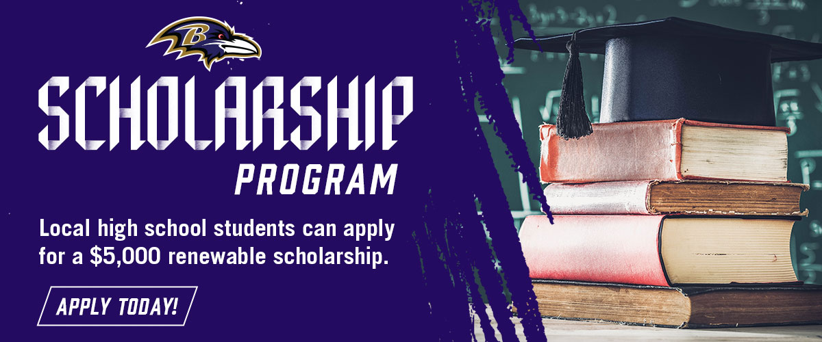 Apply Today For A Ravens Scholarship