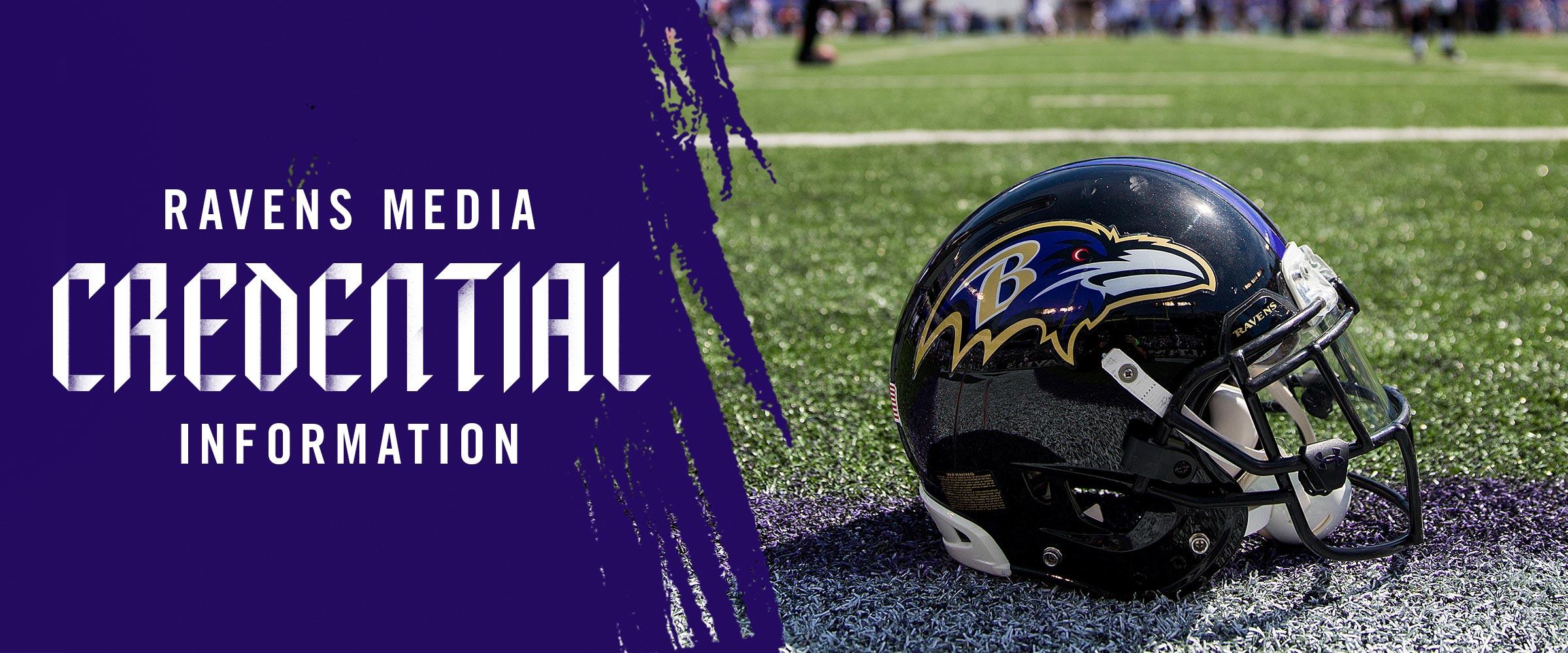 uk availability dfa9c ac850 Ravens Media Credential Information | Baltimore Ravens ...