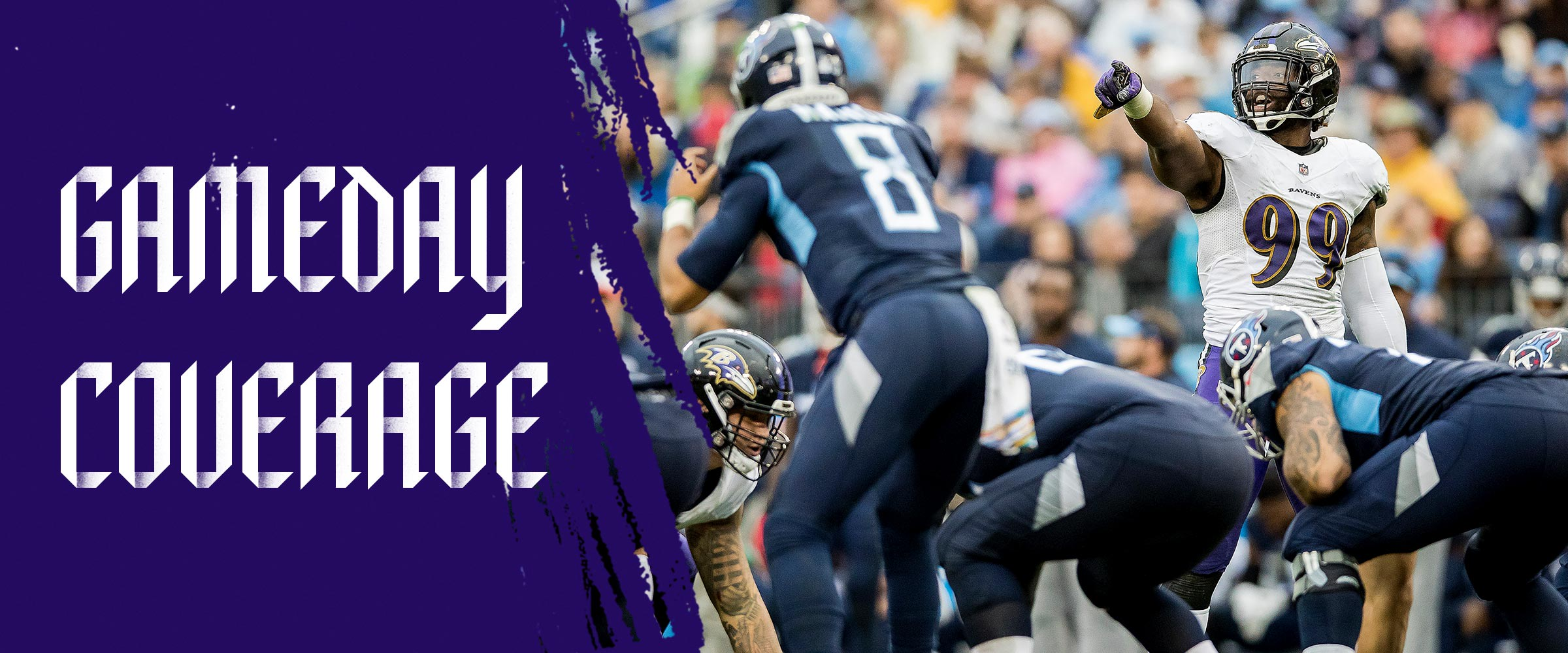 Baltimore Ravens Gameday Coverage