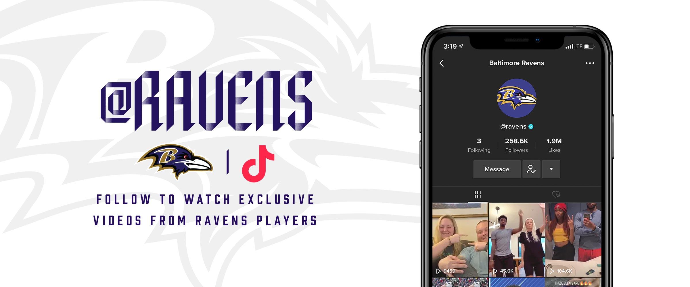 Follow Ravens on TikTok