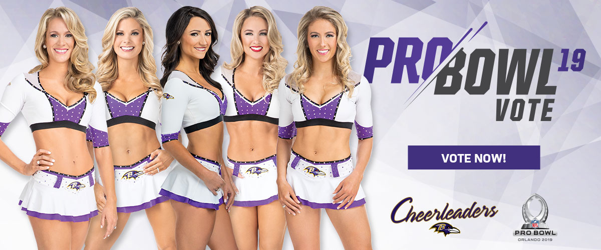 Cheerleader Pro Bowl Voting