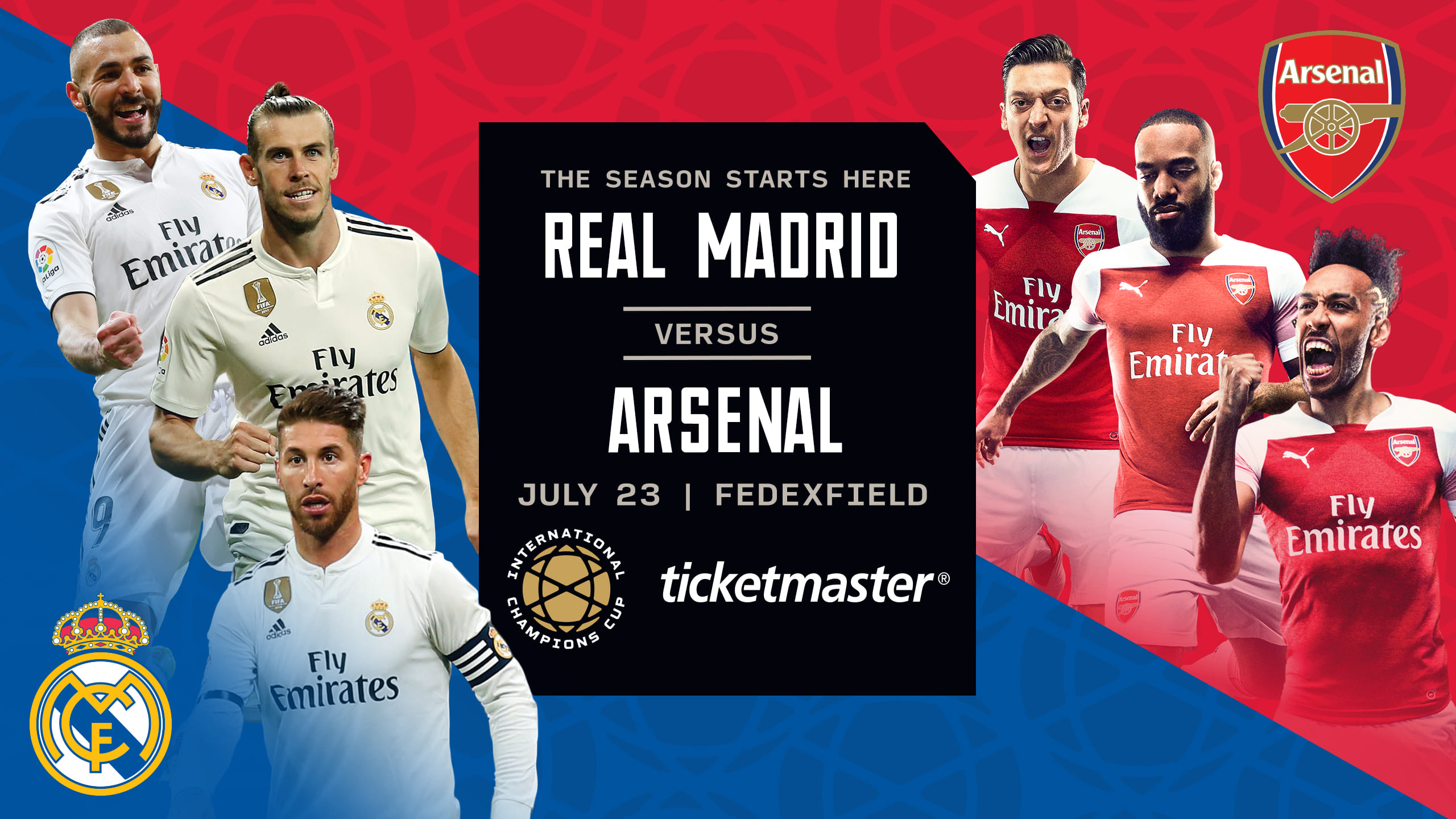 Real Madrid vs Arsenal