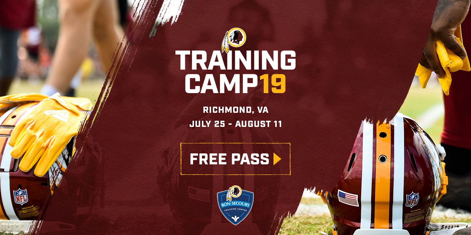 Redskins Training Camp | Washington Redskins - Redskins com