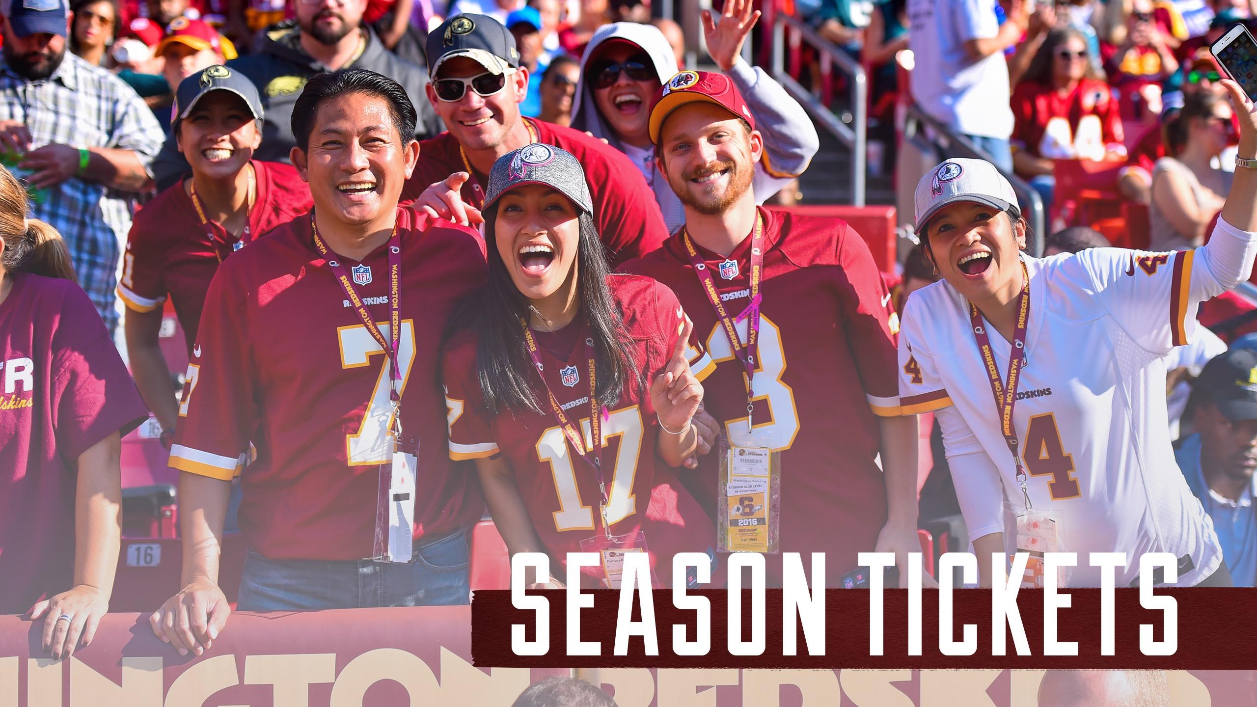 2b31b302 Redskins Tickets | Washington Redskins - Redskins.com