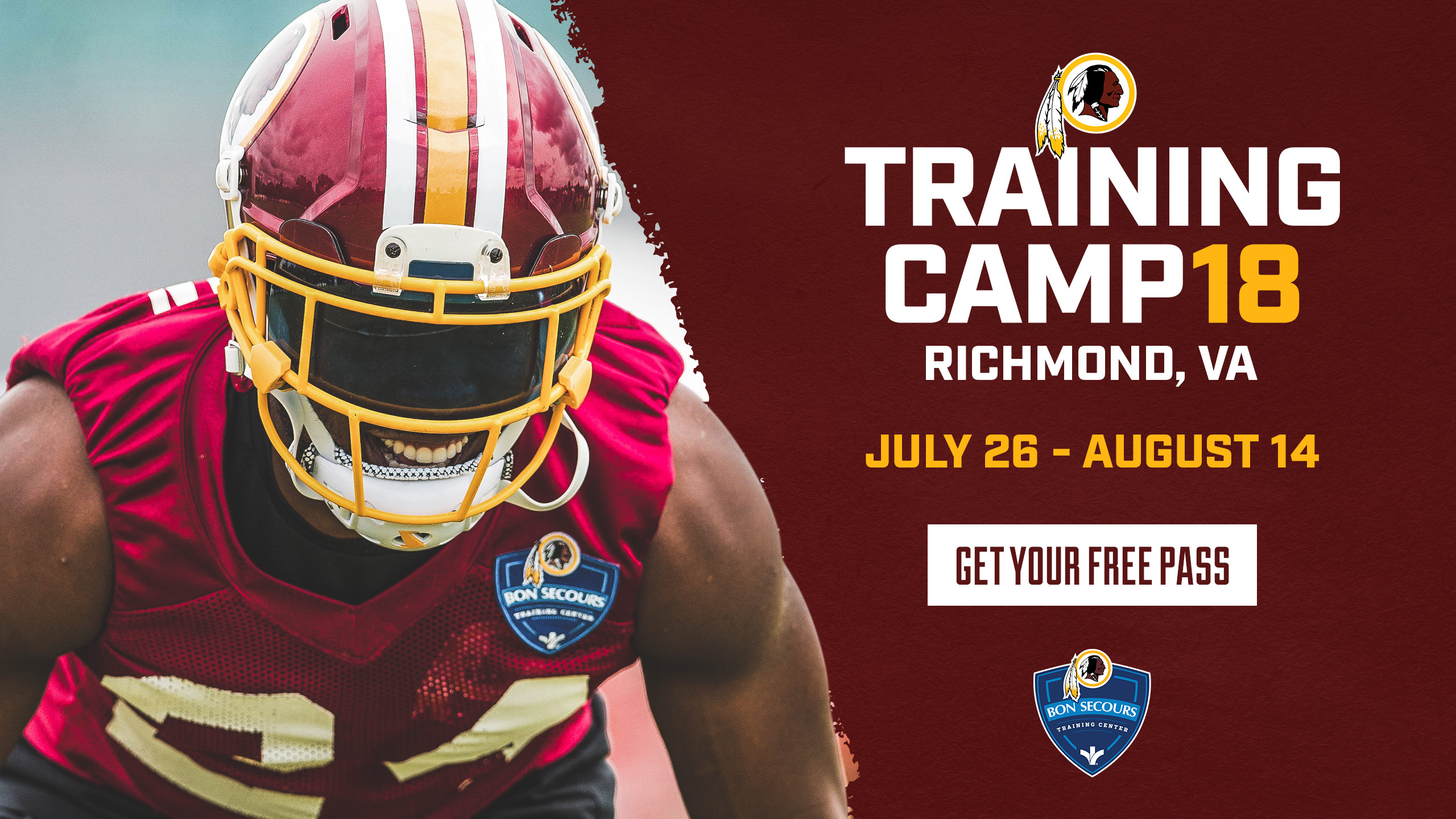 15a6981d8 Passes are required to enter training camp