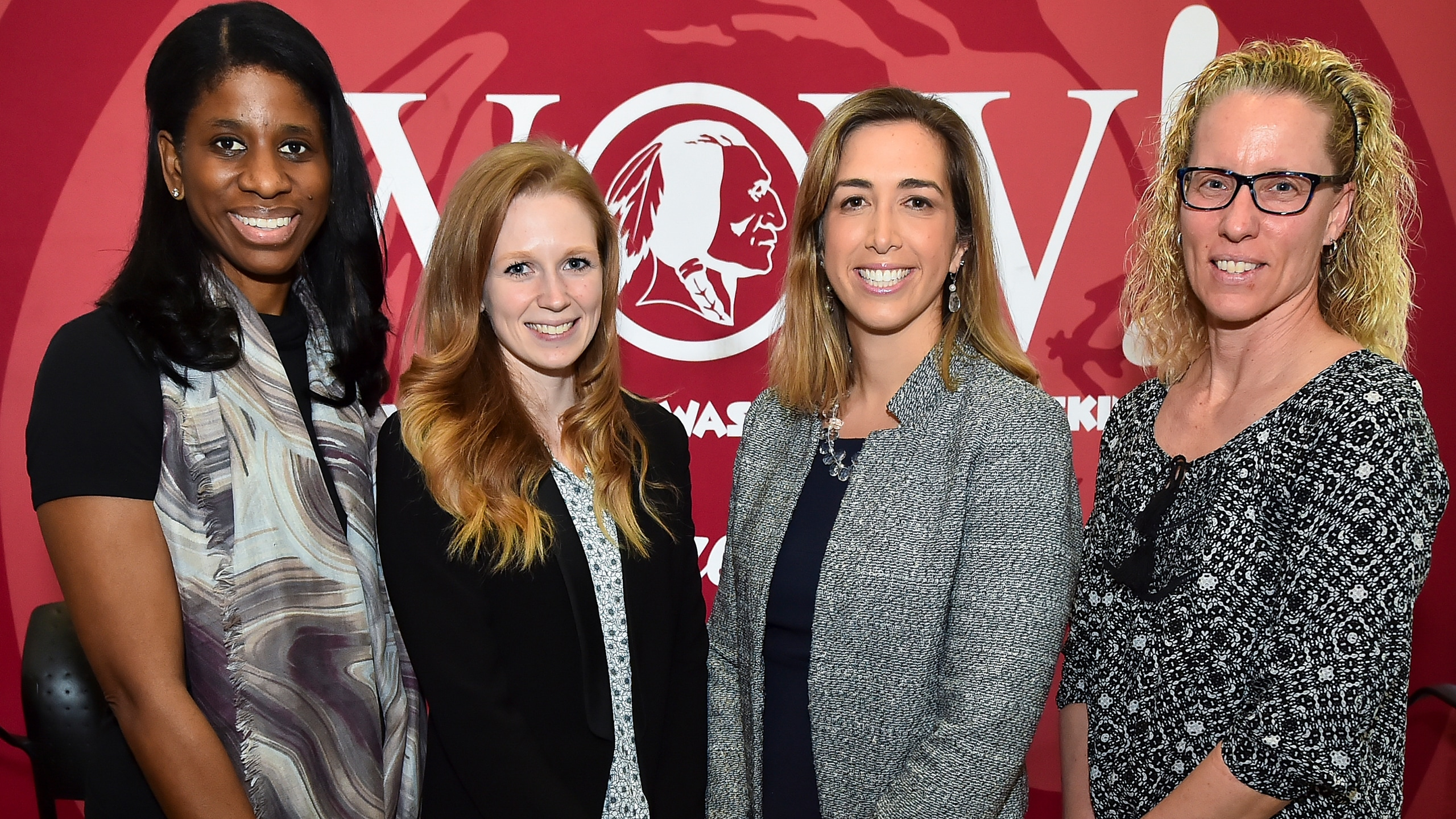 The Women of Washington Redskins