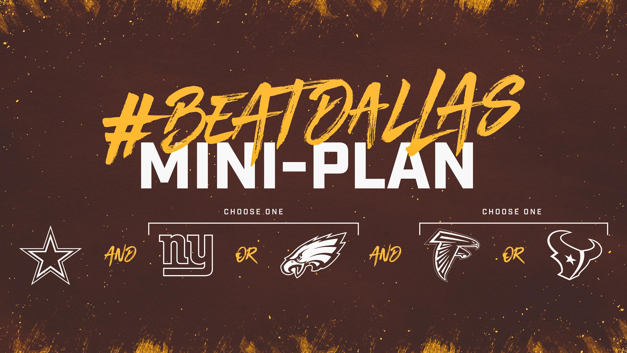 Three-Game Mini Plan