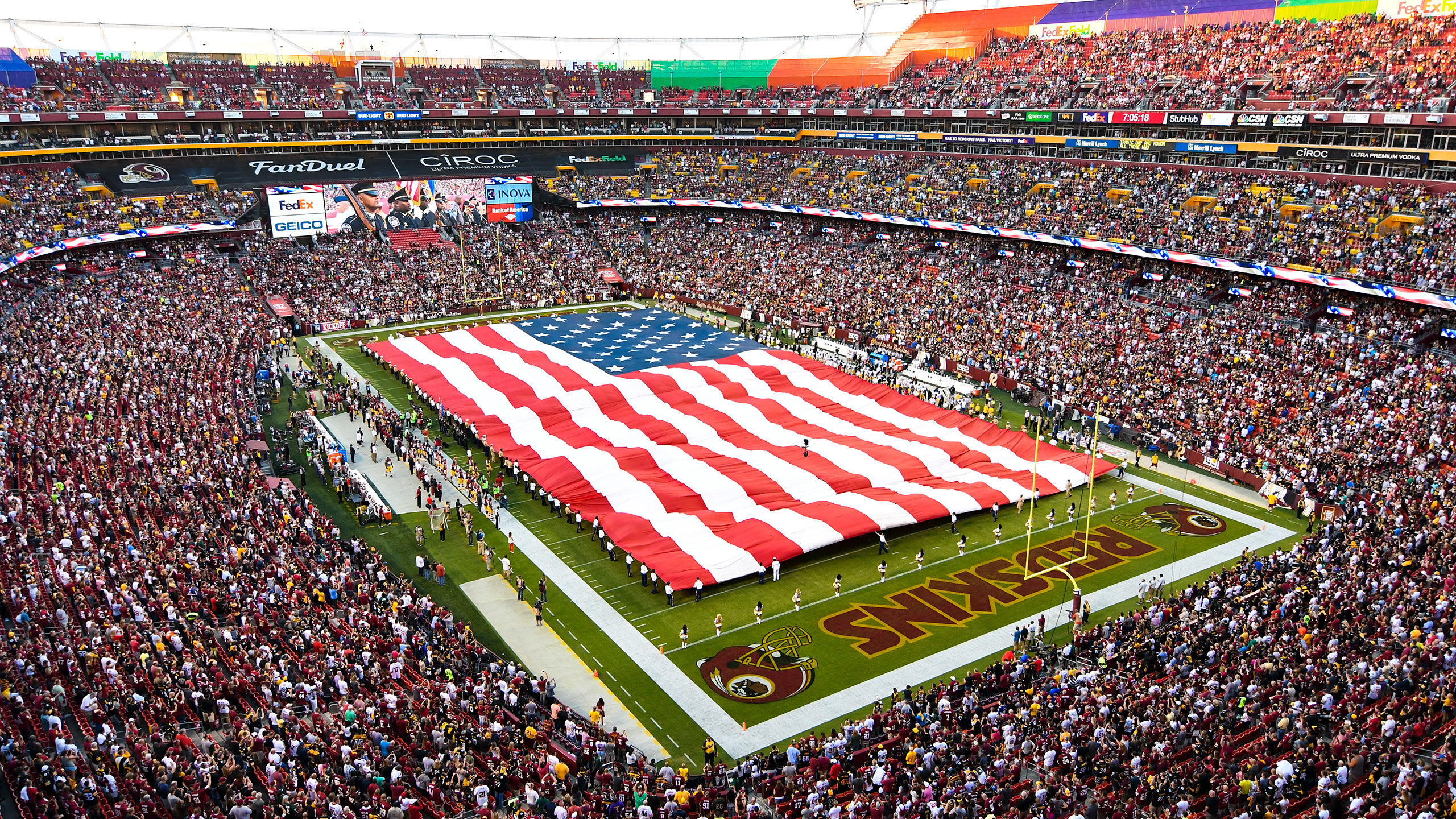 Welcome to the Official Military Appreciation Club of The Washington Redskins