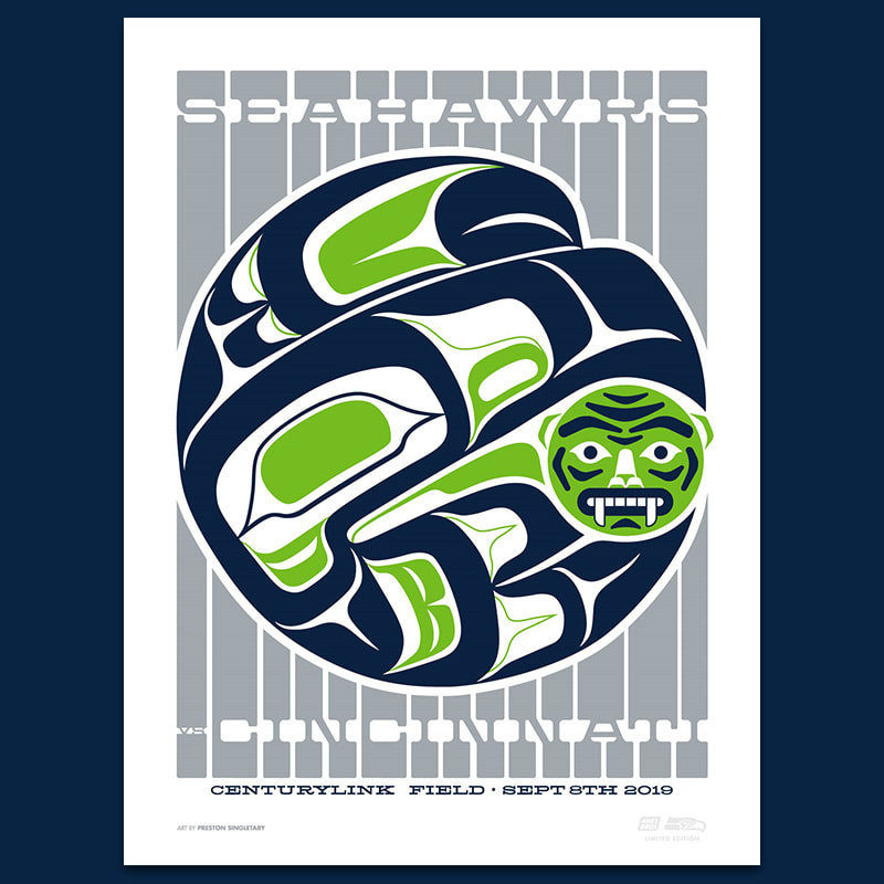 Game 1: Seahawks vs Bengals