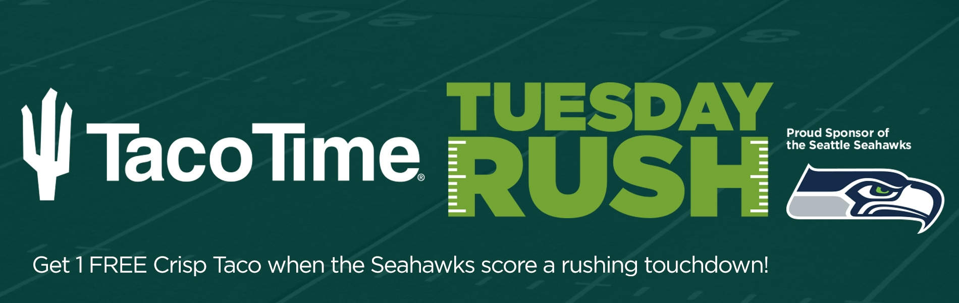 It's the Taco Time Tuesday Rush!